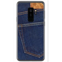 Funda Gel Tpu para Samsung Galaxy S9 Plus Diseño Vaquero Dibujos