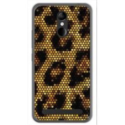 Funda Gel Tpu para Zte Blade A602 Diseño Leopardo Dibujos