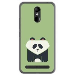 Funda Gel Tpu para Zte Blade A602 Diseño Panda Dibujos