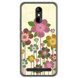 Funda Gel Tpu para Zte Blade A602 Diseño Primavera En Flor Dibujos