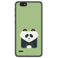 Funda Gel Tpu para Zte Blade A330 Diseño Panda Dibujos