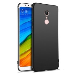 Funda Gel Tpu Tipo Mate Negra para Xiaomi Redmi 5
