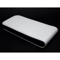 Funda Piel Premium Ultra-Slim Huawei Ascend Y300 Blanca