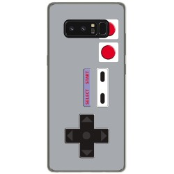 Funda Gel Tpu para Samsung Galaxy Note 8 Diseño Consola Dibujos