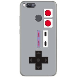 Funda Gel Tpu para Xiaomi Mi 5X / Mi A1 Diseño Consola Dibujos
