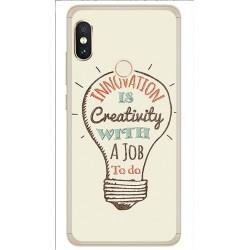 Funda Gel Tpu para Xiaomi Redmi Note 5 / Note 5 Pro Diseño Creativity Dibujos