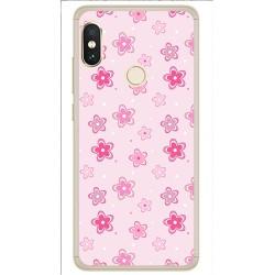 Funda Gel Tpu para Xiaomi Redmi Note 5 / Note 5 Pro Diseño Flores Dibujos