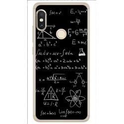 Funda Gel Tpu para Xiaomi Redmi Note 5 / Note 5 Pro Diseño Formulas Dibujos