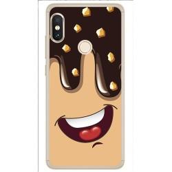 Funda Gel Tpu para Xiaomi Redmi Note 5 / Note 5 Pro Diseño Helado Chocolate Dibujos