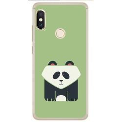 Funda Gel Tpu para Xiaomi Redmi Note 5 / Note 5 Pro Diseño Panda Dibujos