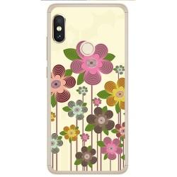 Funda Gel Tpu para Xiaomi Redmi Note 5 / Note 5 Pro Diseño Primavera En Flor Dibujos
