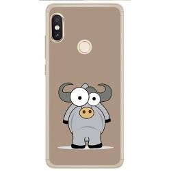 Funda Gel Tpu para Xiaomi Redmi Note 5 / Note 5 Pro Diseño Toro Dibujos