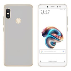 Funda Gel Tpu para Xiaomi Redmi Note 5 / Note 5 Pro Color Transparente