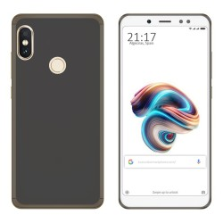 Funda Gel Tpu para Xiaomi Redmi Note 5 / Note 5 Pro Color Negra