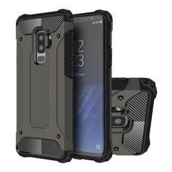 Funda Tipo Hybrid Tough Armor (Pc+Tpu) Negra para Samsung Galaxy S9 Plus