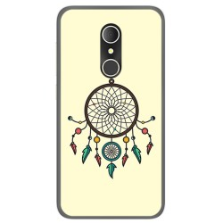 Funda Gel Tpu para Alcatel U5 3G Fp Diseño Atrapasueños Dibujos