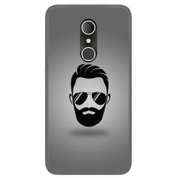 Funda Gel Tpu para Alcatel U5 3G Fp Diseño Barba Dibujos