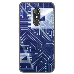Funda Gel Tpu para Alcatel U5 3G Fp Diseño Circuito Dibujos