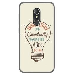 Funda Gel Tpu para Alcatel U5 3G Fp Diseño Creativity Dibujos
