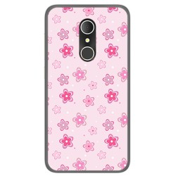 Funda Gel Tpu para Alcatel U5 3G Fp Diseño Flores Dibujos