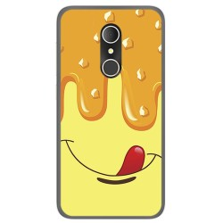 Funda Gel Tpu para Alcatel U5 3G Fp Diseño Helado Vainilla Dibujos