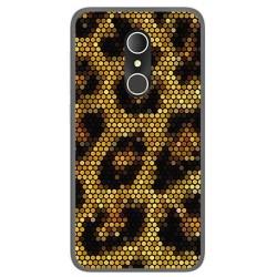 Funda Gel Tpu para Alcatel U5 3G Fp Diseño Leopardo Dibujos