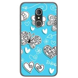 Funda Gel Tpu para Alcatel U5 3G Fp Diseño Mariposas Dibujos