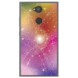 Funda Gel Tpu para Sony Xperia L2 Diseño Abstracto Dibujos