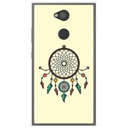 Funda Gel Tpu para Sony Xperia L2 Diseño Atrapasueños Dibujos
