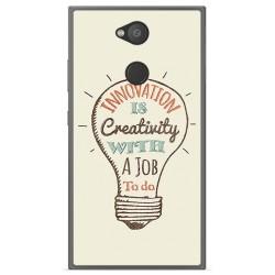 Funda Gel Tpu para Sony Xperia L2 Diseño Creativity Dibujos
