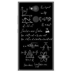 Funda Gel Tpu para Sony Xperia L2 Diseño Formulas Dibujos