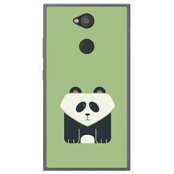 Funda Gel Tpu para Sony Xperia L2 Diseño Panda Dibujos