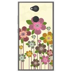 Funda Gel Tpu para Sony Xperia L2 Diseño Primavera En Flor Dibujos