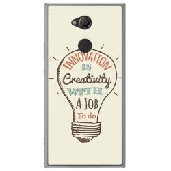 Funda Gel Tpu para Sony Xperia XA2 Diseño Creativity Dibujos