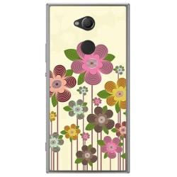 Funda Gel Tpu para Sony Xperia XA2 Diseño Primavera En Flor Dibujos