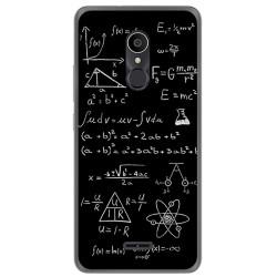 Funda Gel Tpu para Alcatel 3C Diseño Formulas Dibujos
