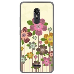 Funda Gel Tpu para Alcatel 3C Diseño Primavera En Flor  Dibujos