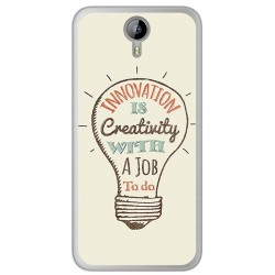 Funda Gel Tpu para Homtom HT3 Diseño Creativity Dibujos