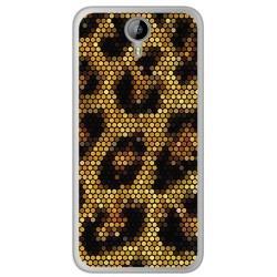 Funda Gel Tpu para Homtom HT3 Diseño Leopardo Dibujos
