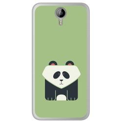 Funda Gel Tpu para Homtom HT3 Diseño Panda Dibujos