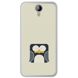 Funda Gel Tpu para Homtom HT3 Diseño Pingüino Dibujos