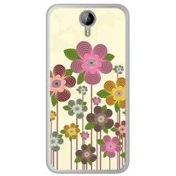 Funda Gel Tpu para Homtom HT3 Diseño Primavera En Flor Dibujos