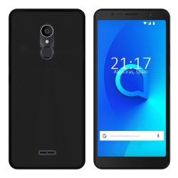 Funda Gel Tpu para Alcatel 3C Color Negra