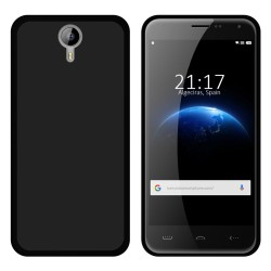 Funda Gel Tpu para Homtom HT3 Color Negra