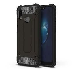 Funda Tipo Hybrid Tough Armor (Pc+Tpu) Negra para Huawei P20 Lite
