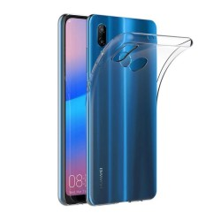 Funda Gel Tpu Fina Ultra-Thin 0,5mm Transparente para Huawei P20 Lite
