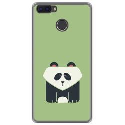 Funda Gel Tpu para Cubot H3 Diseño Panda Dibujos