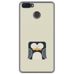 Funda Gel Tpu para Cubot H3 Diseño Pingüino Dibujos
