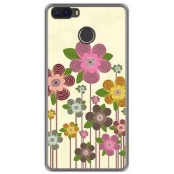 Funda Gel Tpu para Cubot H3 Diseño Primavera En Flor Dibujos