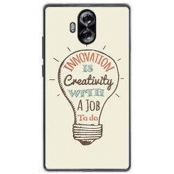 Funda Gel Tpu para Doogee Mix Lite Diseño Creativity Dibujos